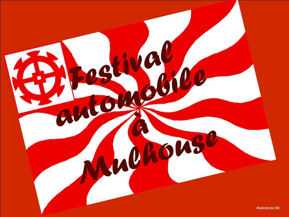 Festival automobile à Mulhouse Avance au clic