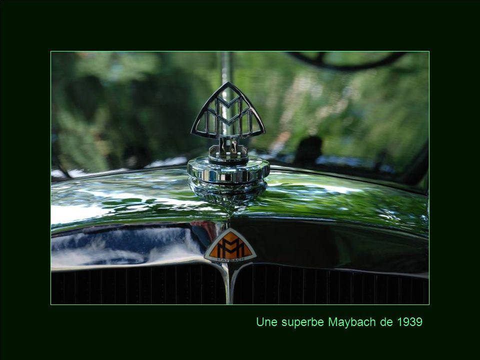 Une superbe Maybach de 1939