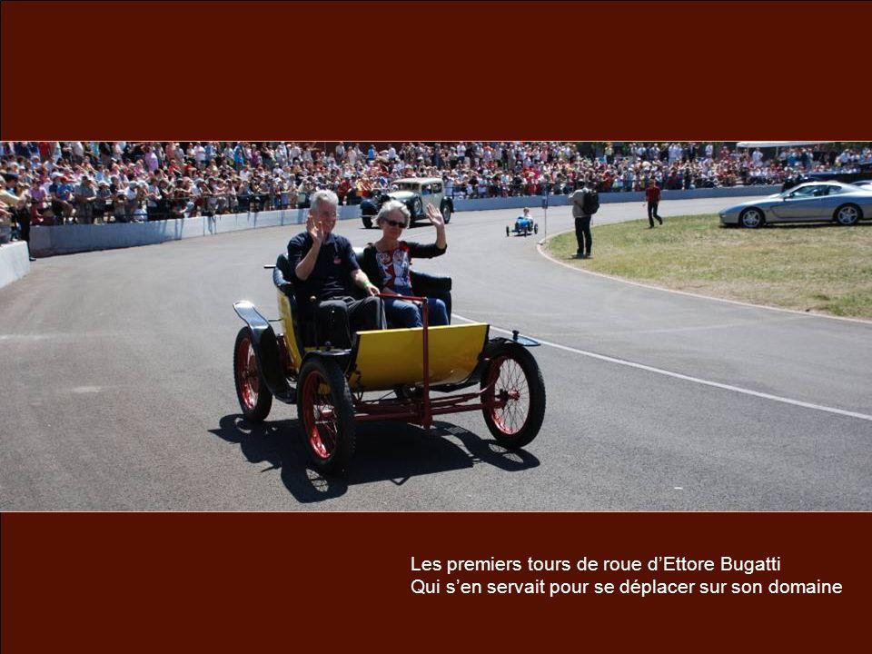 Les premiers tours de roue dEttore Bugatti Qui sen servait pour se déplacer sur son domaine