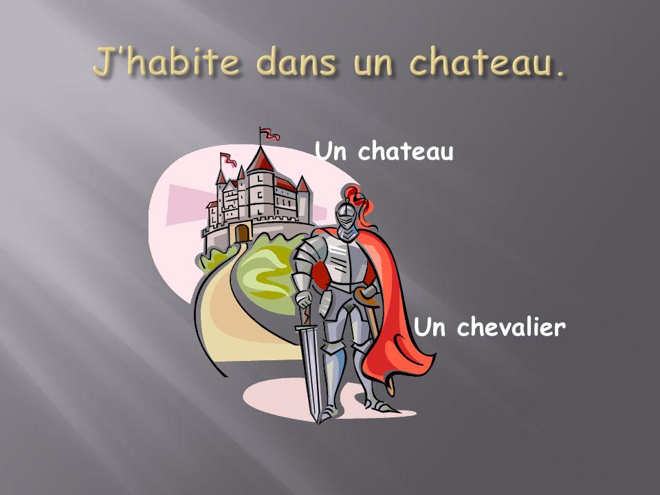 Un chevalier Un chateau