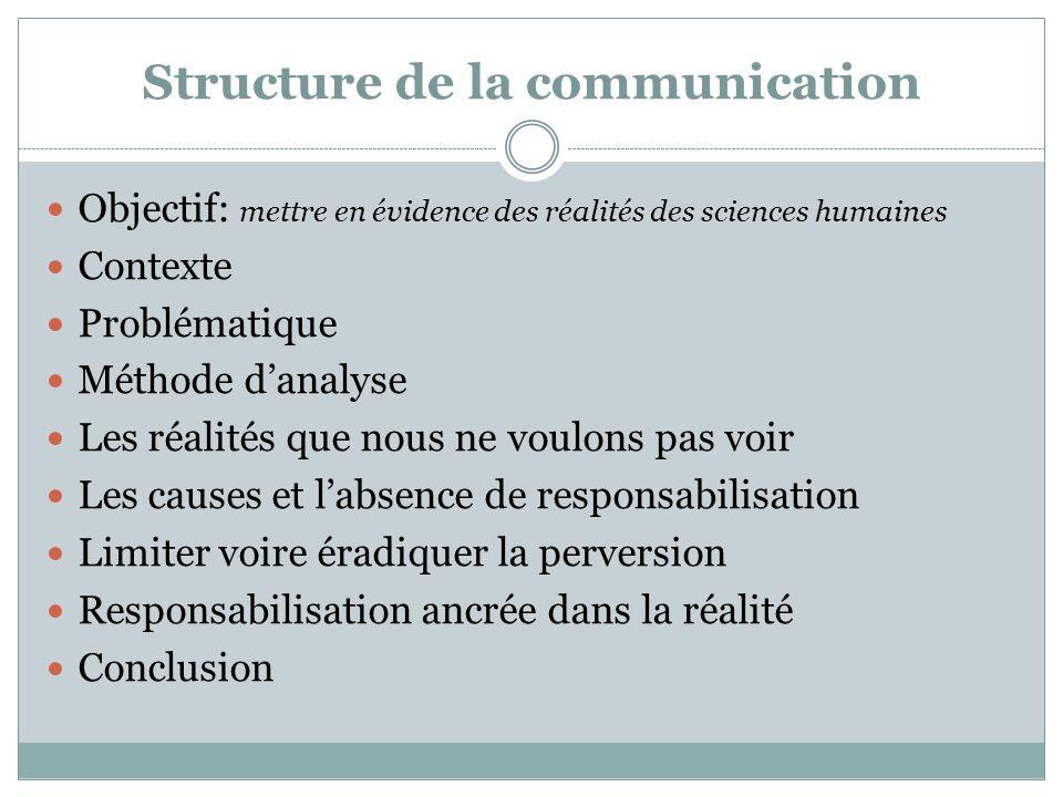 Bibliographie succincte et sélective: Brun-Picard, Y., 2006, La considération élément initial dun mouvement pour légalité Canto-Sperber, M., 2001 Linquiétude morale et la vie humaine Cusset, F., 2005, French Theory Dosse, F., 1997, Lempire du sens Gagnon, G., 2006, De la responsabilité Godet, S., Sociologie de léthique Le Boterf, G., 2008, Repenser les compétences Lacroix, A., 2006, Ethique appliquée, éthique engagée Ogien, R., 2007, Léthique aujourdhui Peneff, J., 2009, Le goût de lobservation Sokal, A., 1999, Impostures intellectuelles