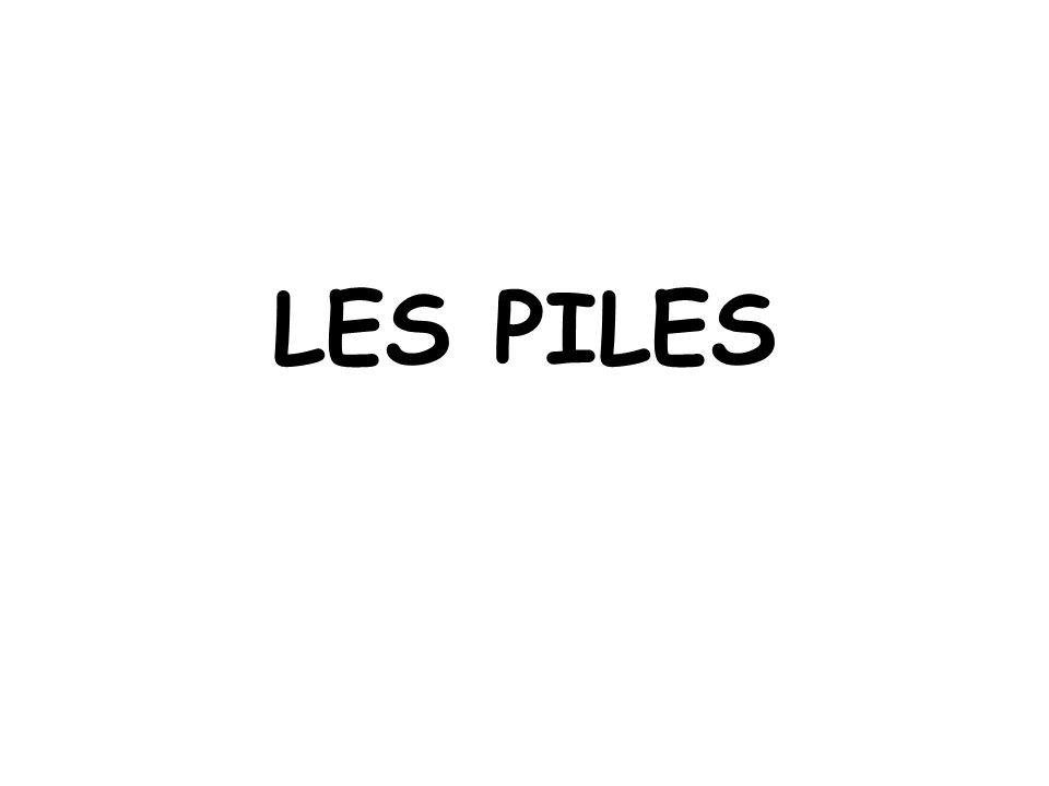 LES PILES