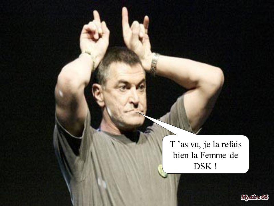 Si Bayrou passe Président, je couche avec Geneviève de Fontenay.