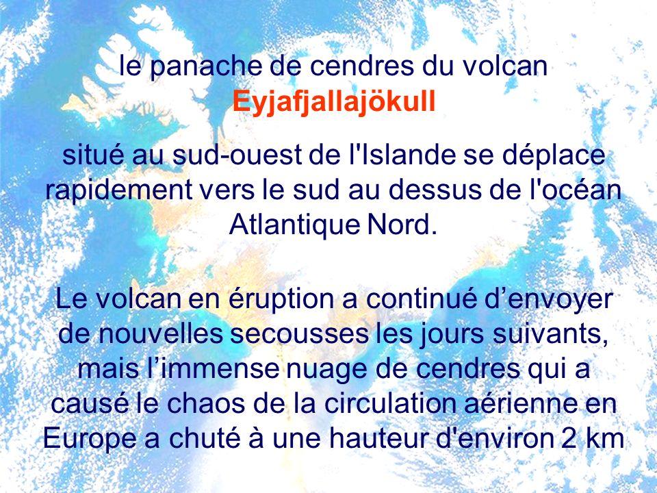 (REUTERS / récepteur satellite NERC Station, l'Université de Dundee, Ecosse) volcan Eyjafjallajökull