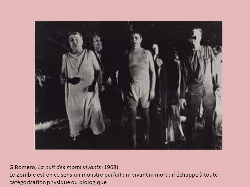 G.Romero, La nuit des morts vivants (1968).