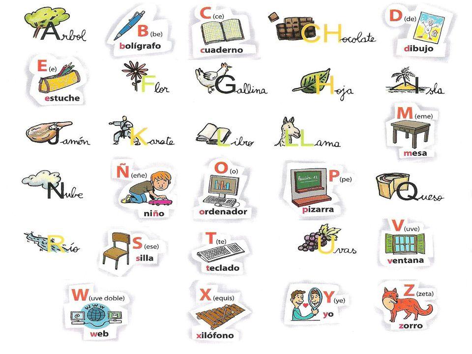 ¿Cuáles son las nuevas letras del alfabeto español?