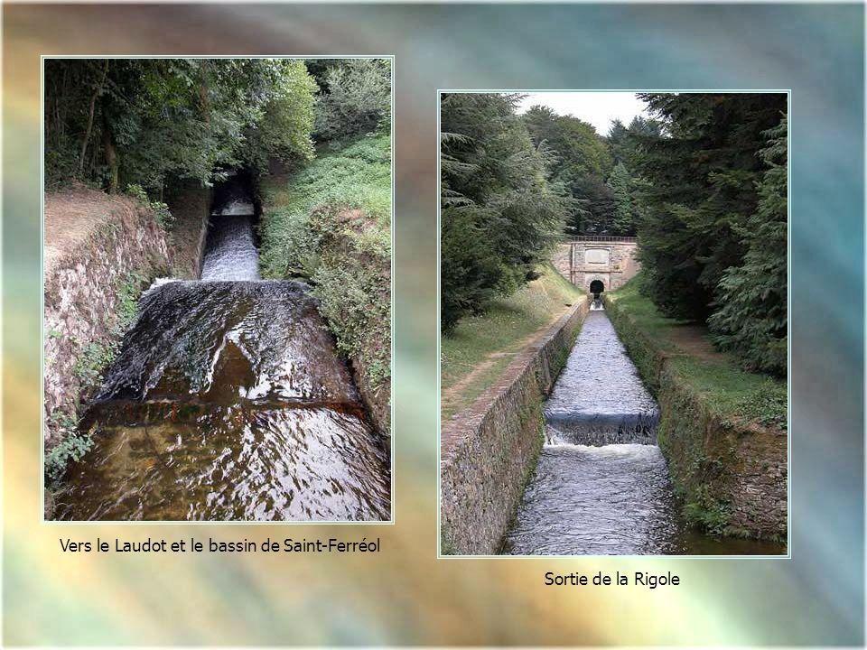 Voûte de Vauban Cest le 1er tunnel au fil de leau Il permet à la rigole de changer de versant 3 m de largeur - 122 m de longueur