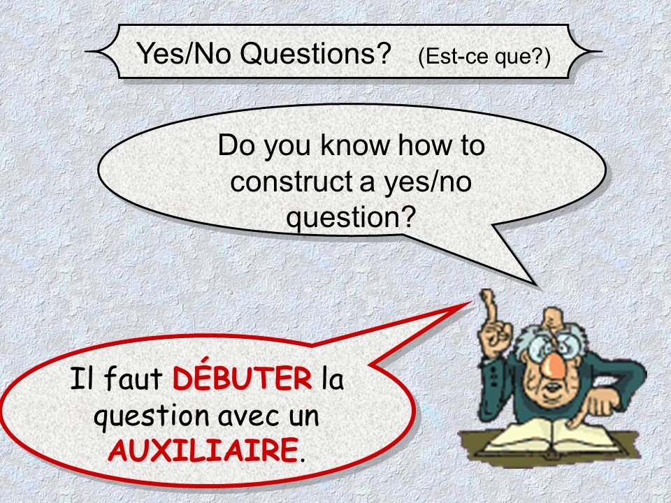 Yes/No Questions.(Est-ce que?) 1- Is the lady a seamstress .