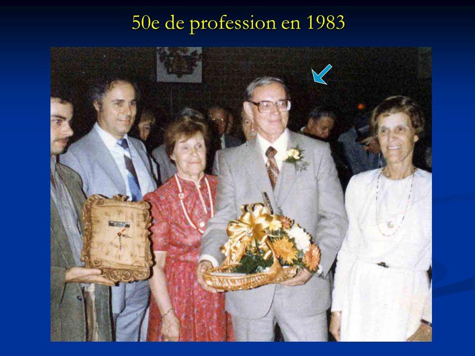50e de profession en 1983