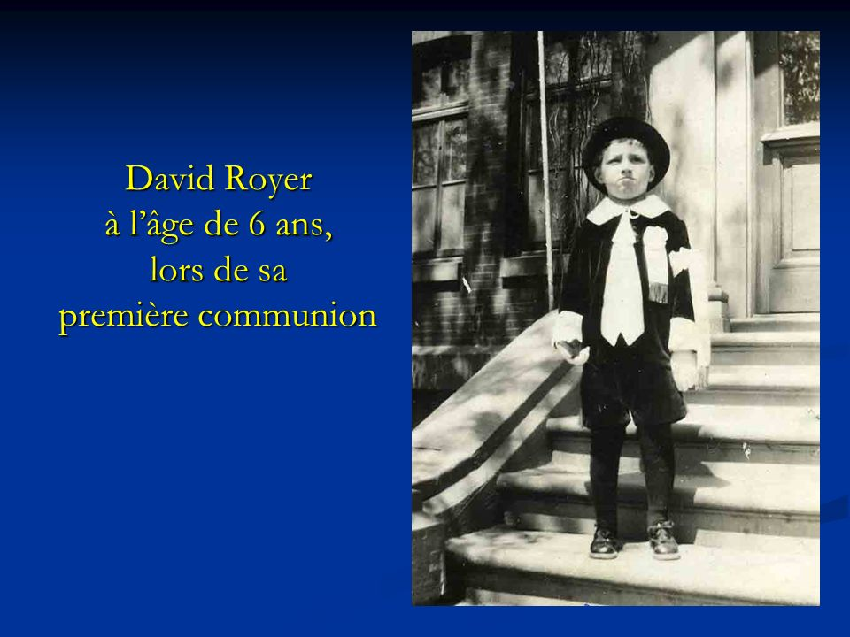 Fils de Pierre Royer et de Julie Richard Pierre Royer