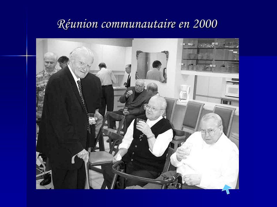 Rencontre à la Maison provinciale en 1995