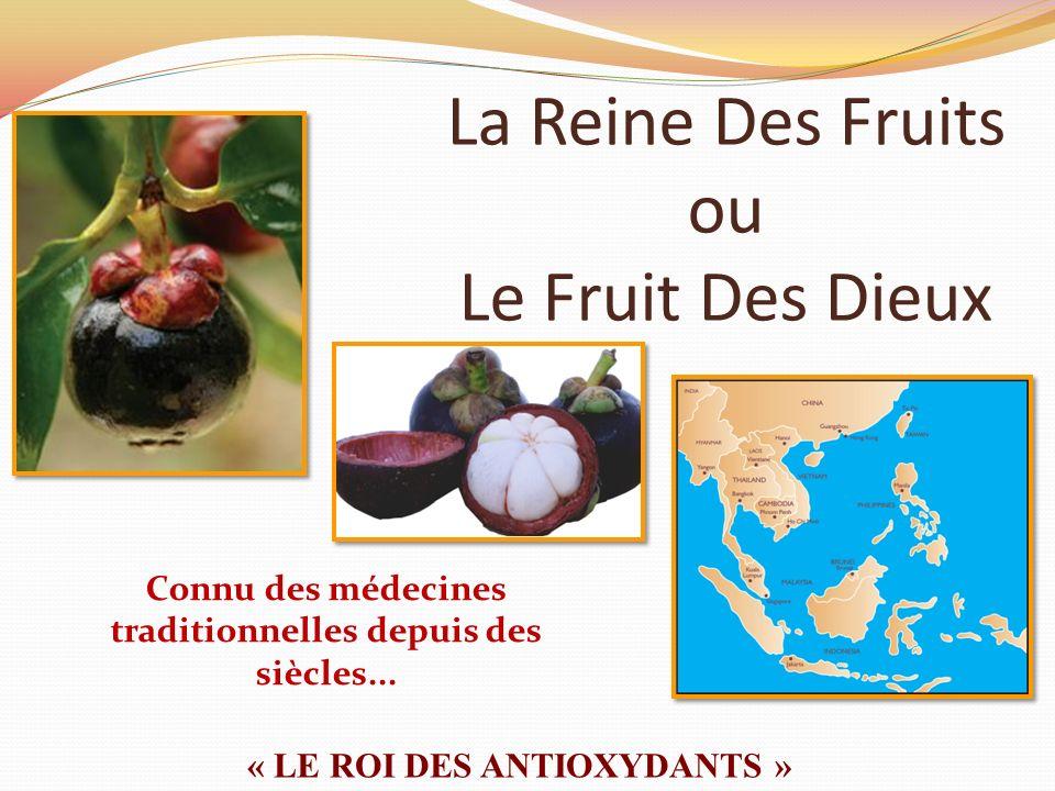 La Reine Des Fruits ou Le Fruit Des Dieux « LE ROI DES ANTIOXYDANTS » Connu des médecines traditionnelles depuis des siècles...