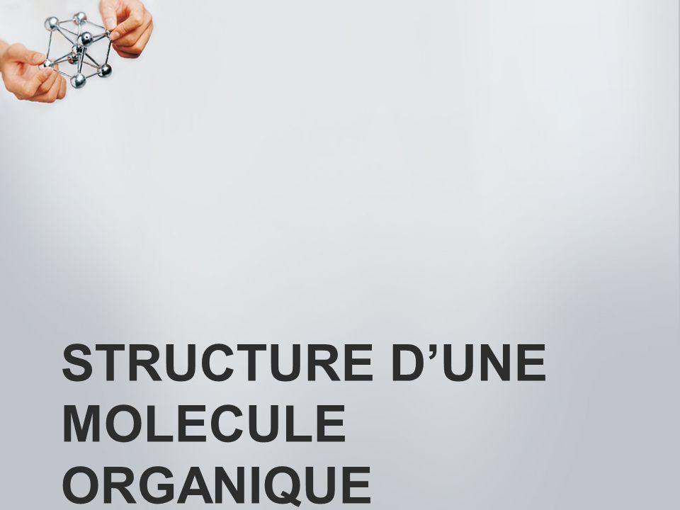 STRUCTURE DUNE MOLECULE ORGANIQUE