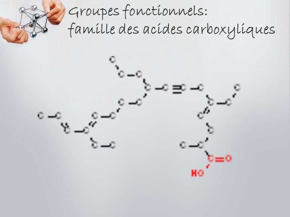 Groupes fonctionnels: familles des cétones et des aldéhydes cétonealdéhyde