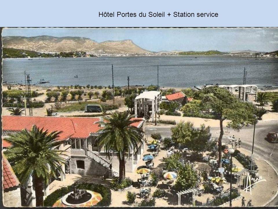 Hôtel Portes du Soleil + Station service