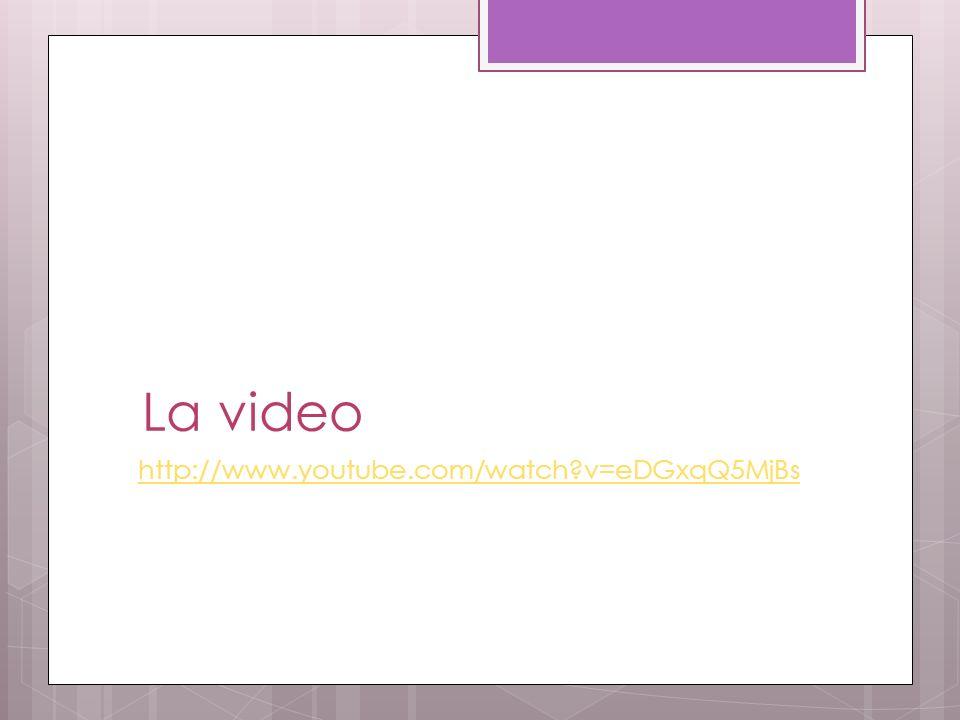 La video http://www.youtube.com/watch?v=eDGxqQ5MjBs