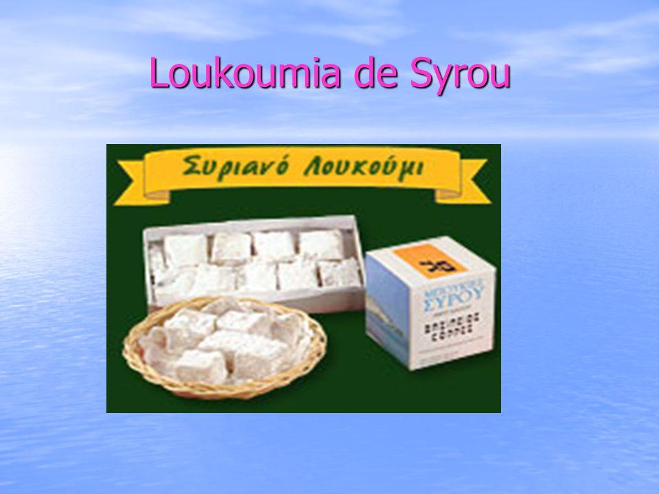 Loukoumia de Syrou
