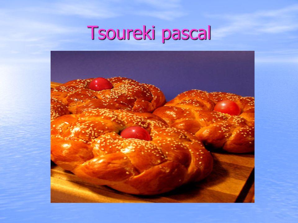 Tsoureki pascal