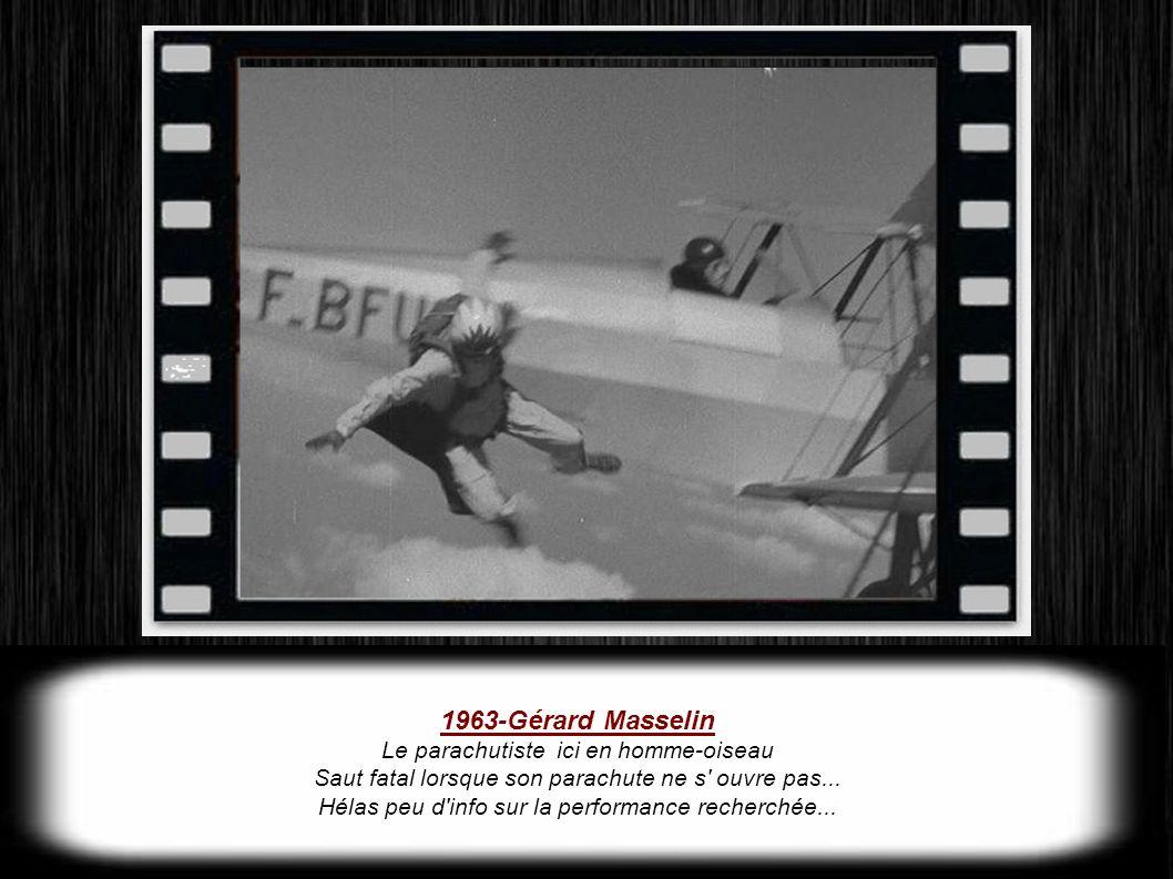 1955 24 Heures du Mans Il est 18h34, lorsque Mike Hawthon décide de rentrer au stand pour se ravitailler, il décélère et oblique ce qui surprend une a