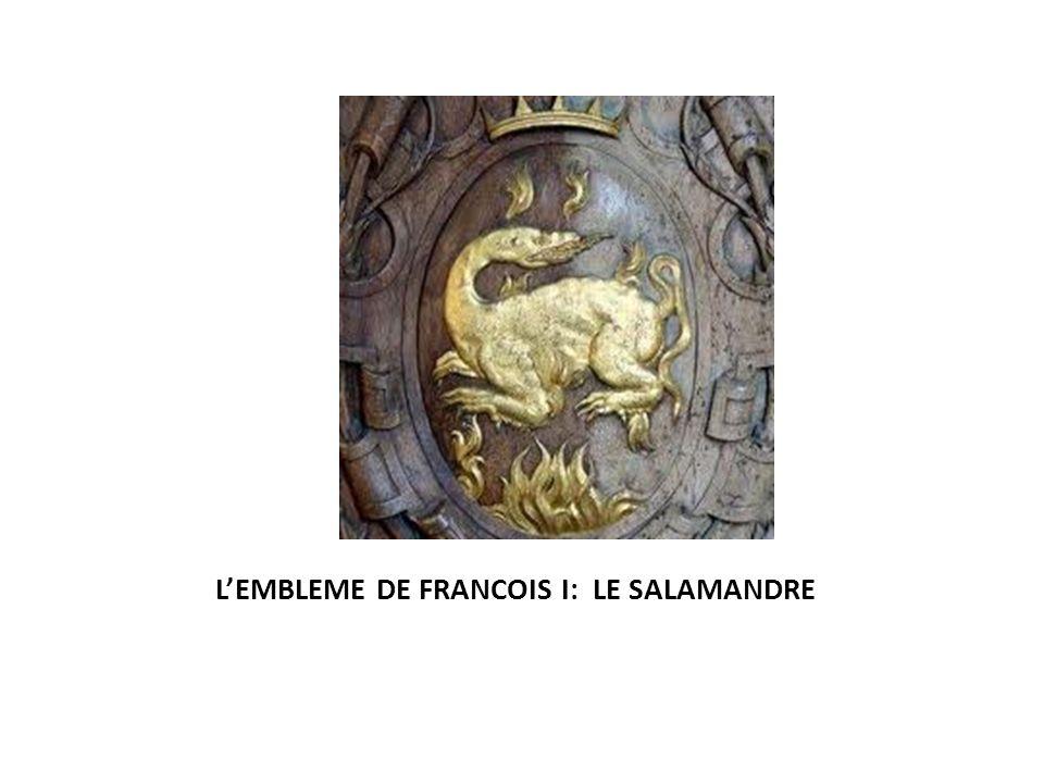 LEMBLEME DE FRANCOIS I: LE SALAMANDRE