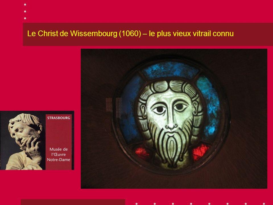 Le Christ de Wissembourg (1060) – le plus vieux vitrail connu