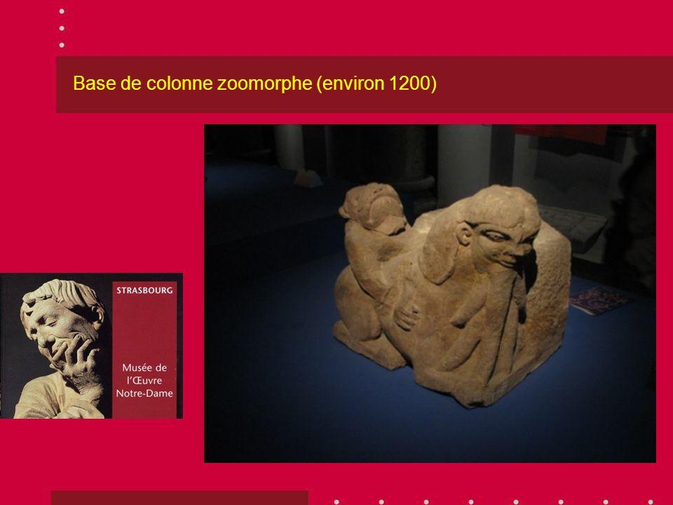 Base de colonne zoomorphe (environ 1200)