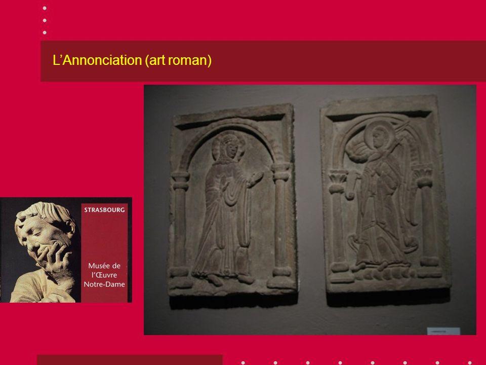 LAnnonciation (art roman)
