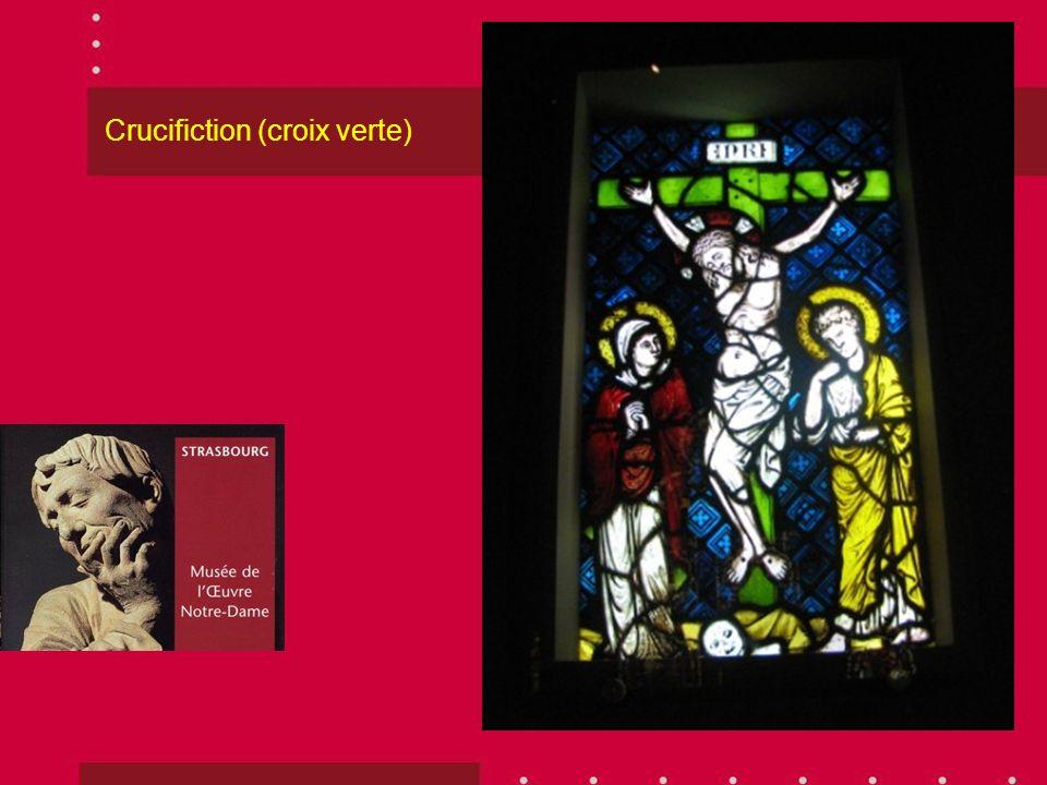 Crucifiction (croix verte)