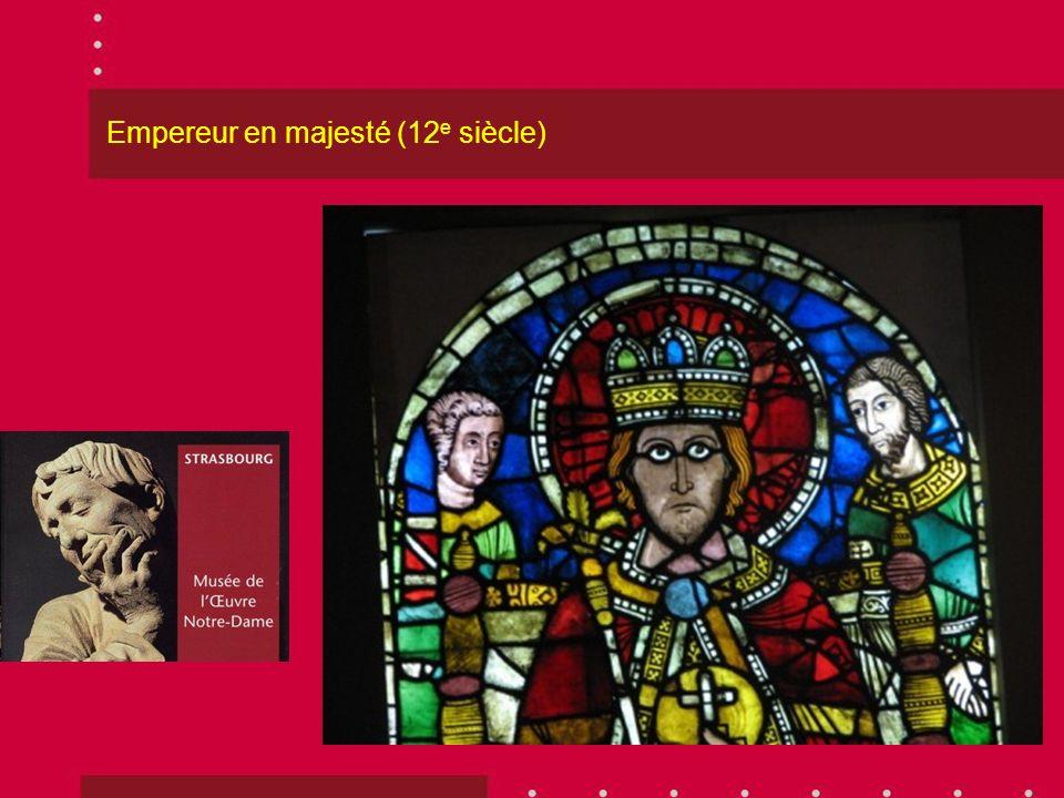 Empereur en majesté (12 e siècle)