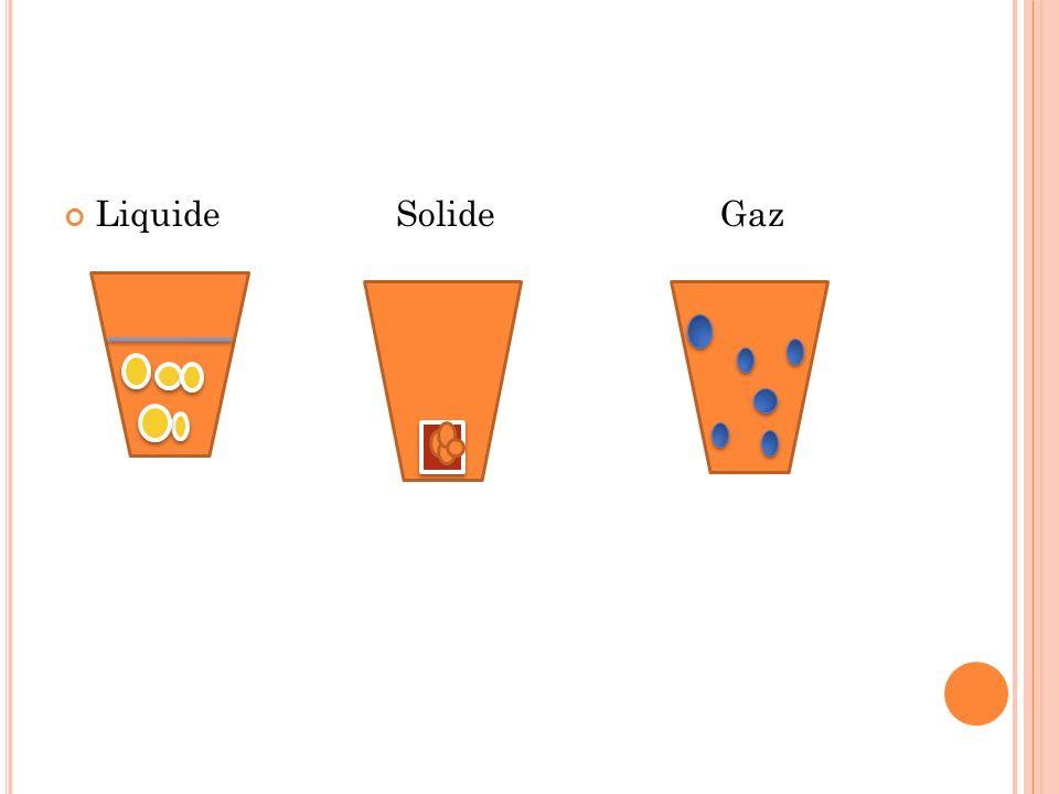 Liquide Solide Gaz