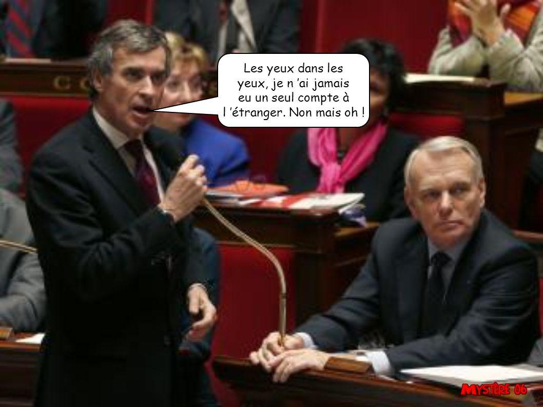 Et je leur dis quoi aux Français ? Tu te démerdes, mais tu restes dans le flou.