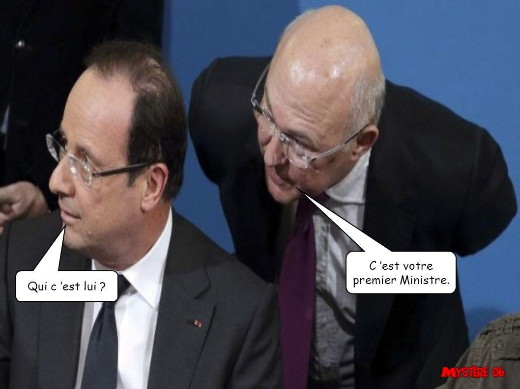 Pour avoir des papiers français, c est la file de droite.