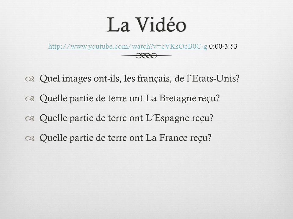 La VidéoLa Vidéo Quel images ont-ils, les français, de lEtats-Unis.