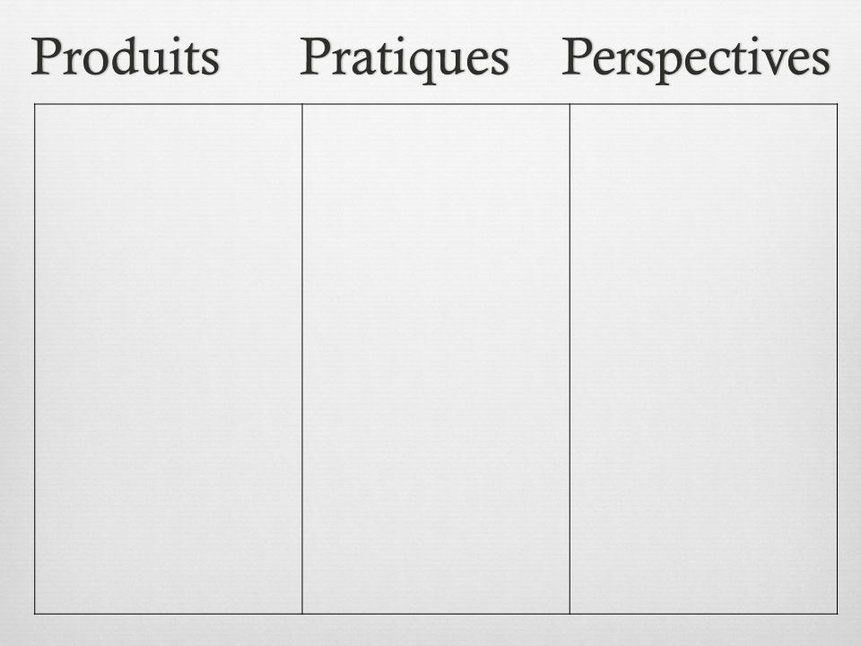 Produits Pratiques PerspectivesProduits Pratiques Perspectives