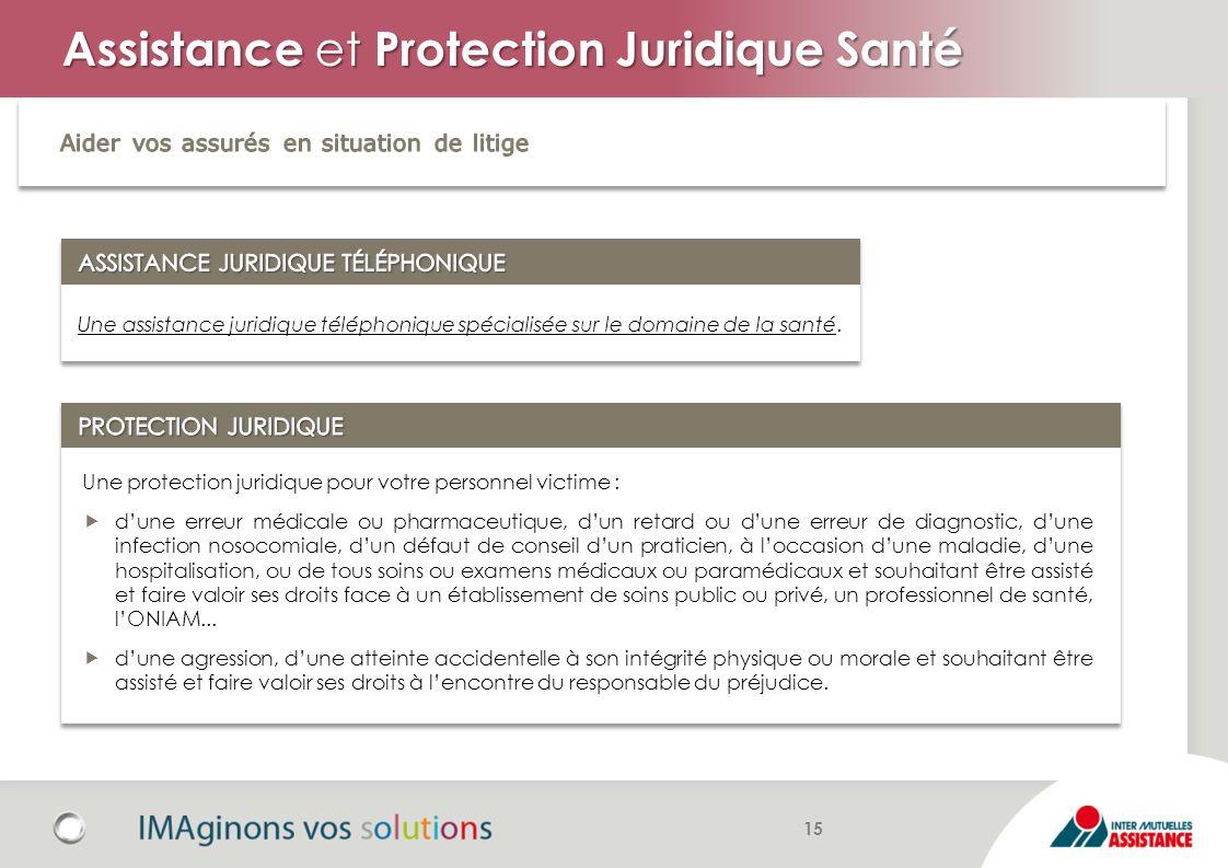 Assistance et Protection Juridique Santé Une assistance juridique téléphonique spécialisée sur le domaine de la santé. Une protection juridique pour v