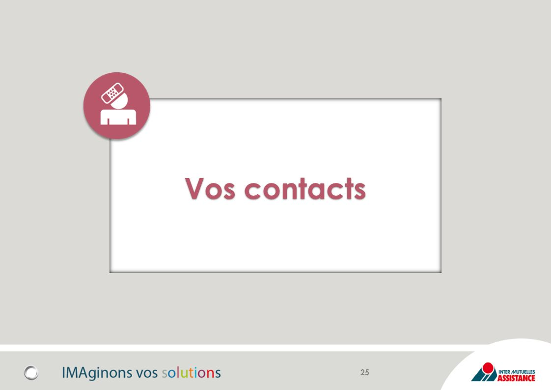 Vos contacts 25