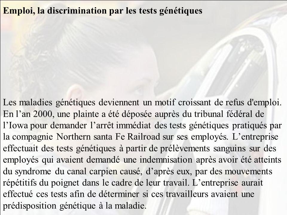 3-5 A la recherche de vos origines avec les tests génétiques «Avez-vous des racines celtes, juives, phéniciennes?» Voilà une drôle de question à laque
