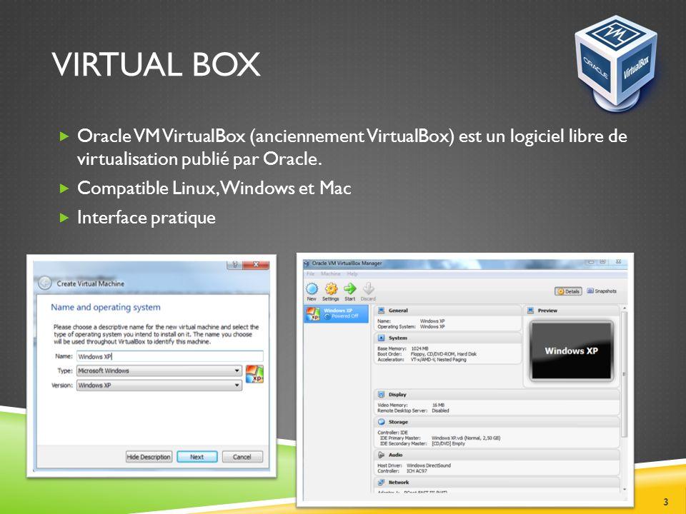 VIRTUAL PC Idéal pour tester un OS sans être obligé de repartitionner son disque dur et de créer le dual boot.