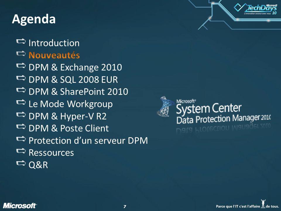 28 DPM & Hyper-V R2 : CSV