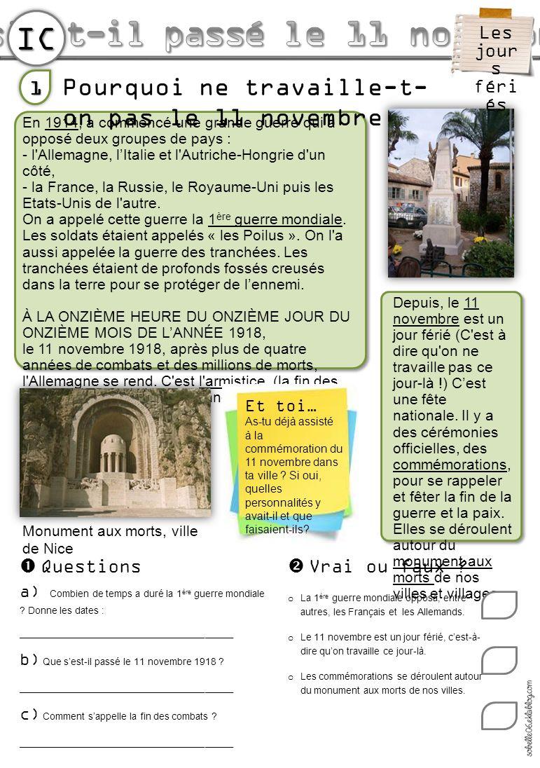 IC A Paris, on rend hommage au Soldat inconnu mort à Verdun et enterré sous lArc de Triomphe.