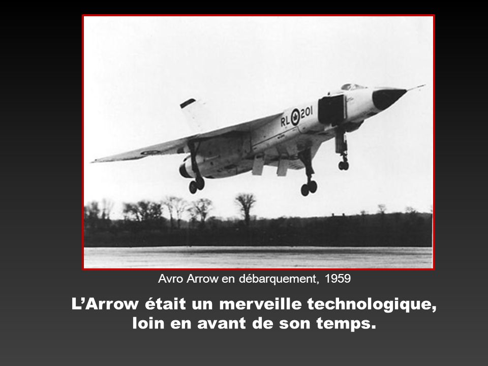 Avro Arrow Comment.