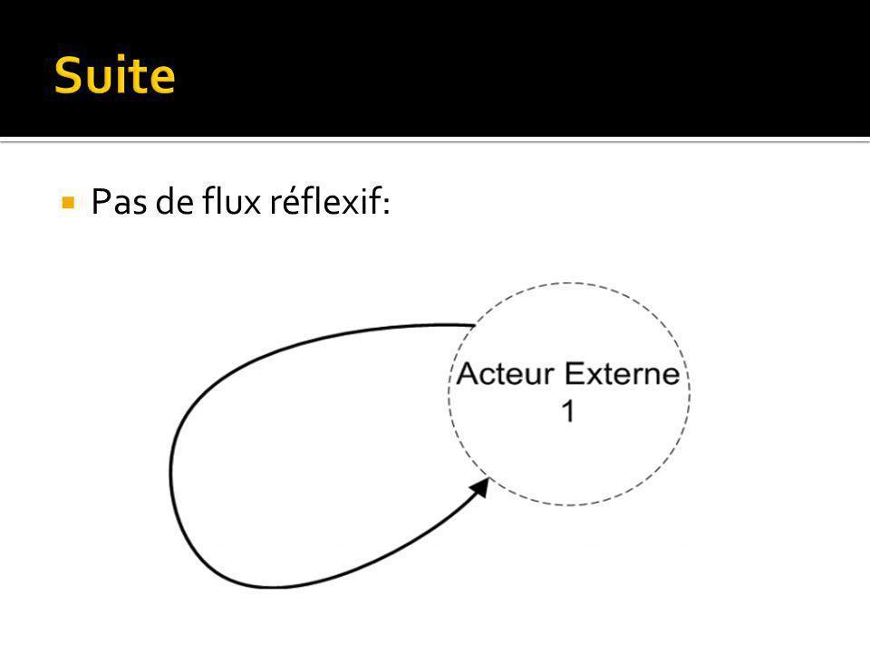 Pas de flux réflexif: