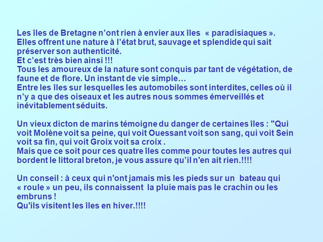 Ile de Hoedic (Edig) Hoedic en breton signifie caneton…