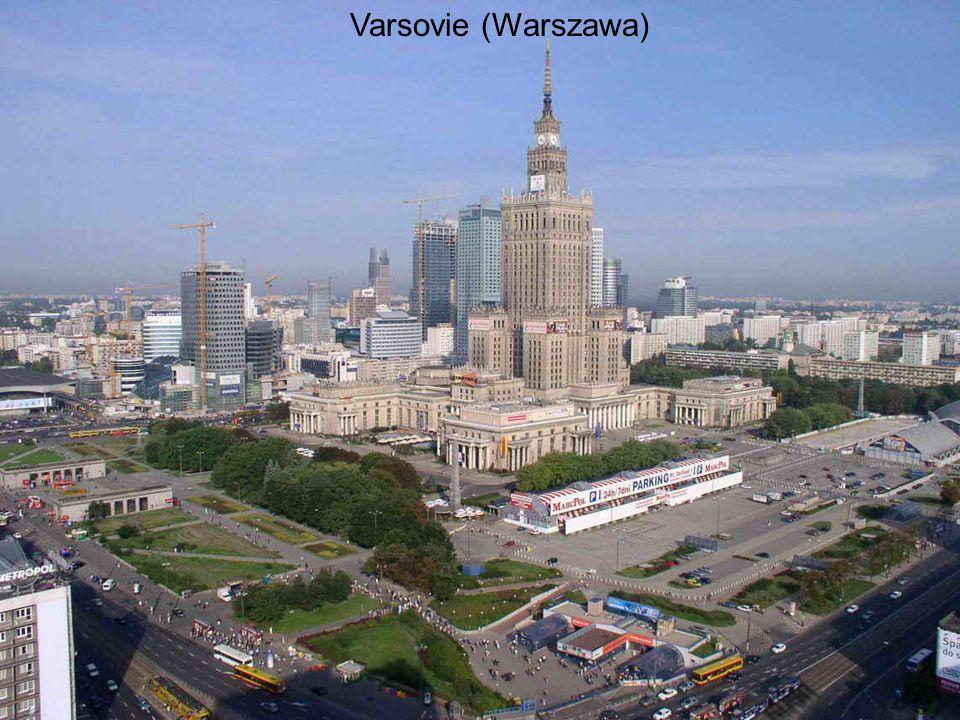 Varsovie (Warszawa)