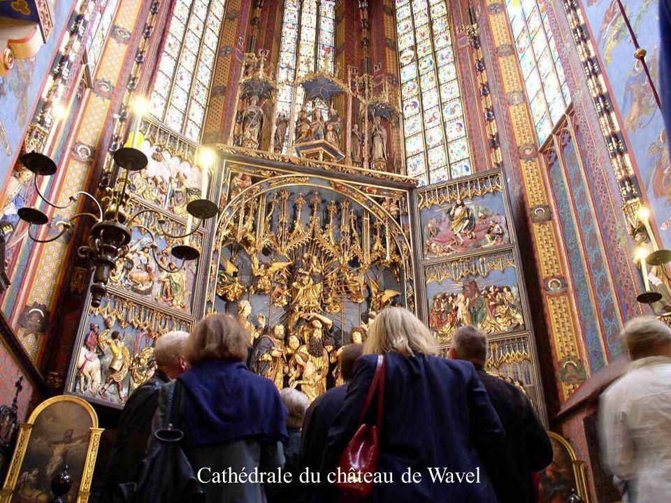 Cathédrale du château de Wavel