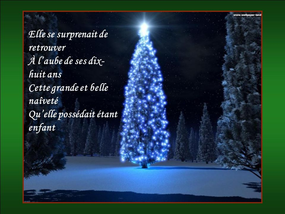 À Noël, cétait loccasion On devait se réconcilier Et dans toutes les maisons Flottait un air damitié