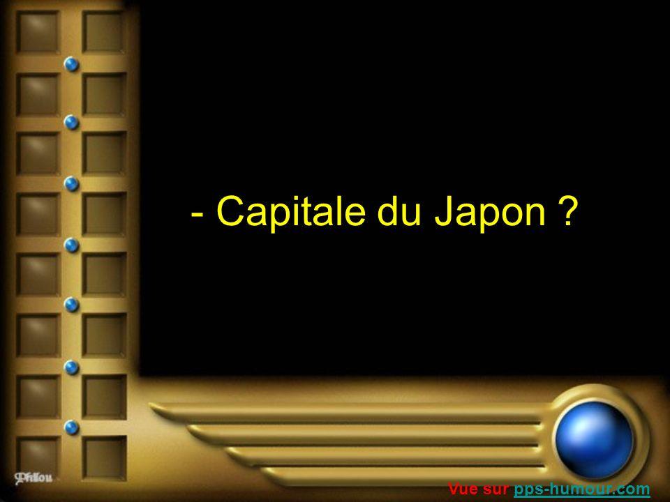 - Capitale du Japon ? Vue sur pps-humour.compps-humour.com