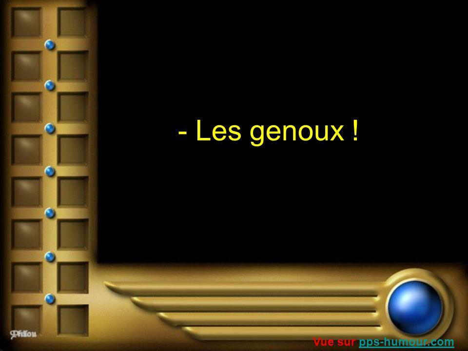 - Les genoux ! Vue sur pps-humour.compps-humour.com
