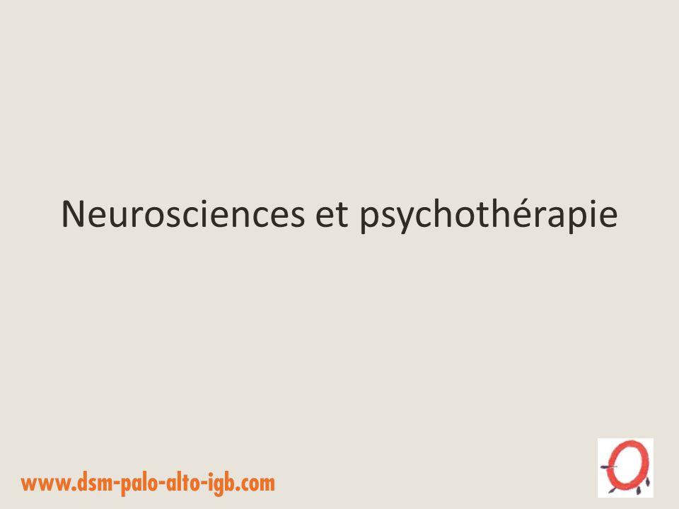Neurosciences et psychothérapie