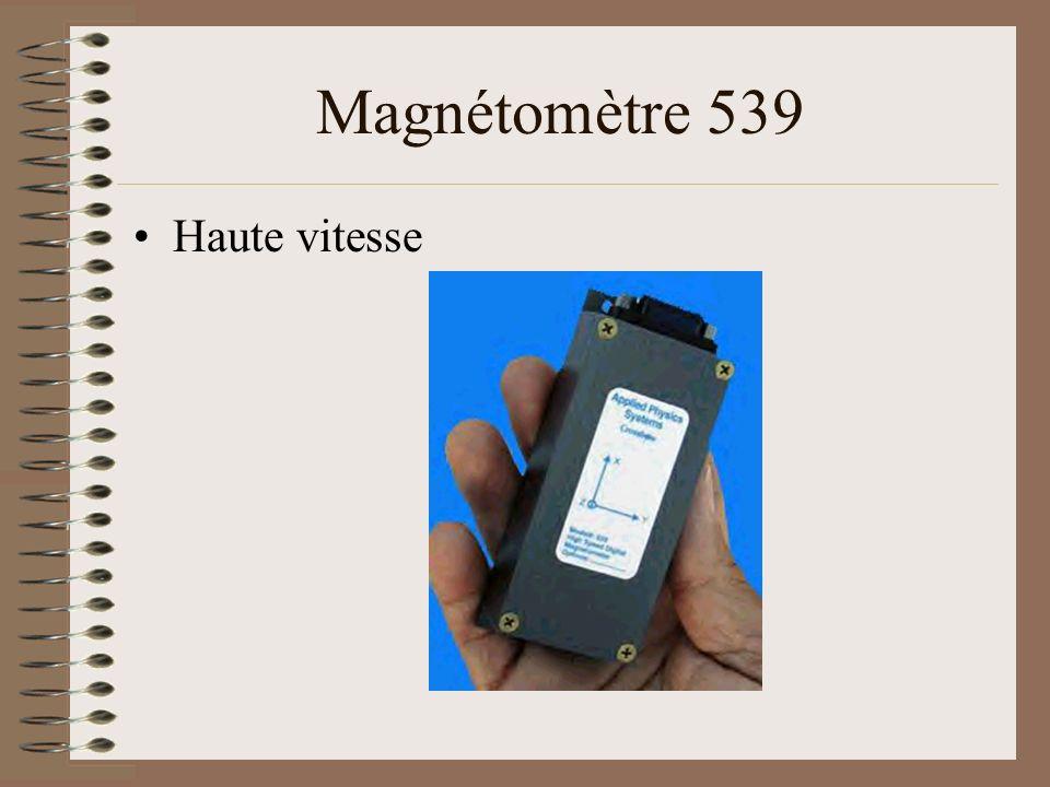 Magnétomètre 539 Haute vitesse